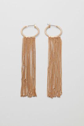 Weekday Pim Hoop Earrings - Gold