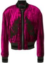 Haider Ackermann embellished bomber jacket