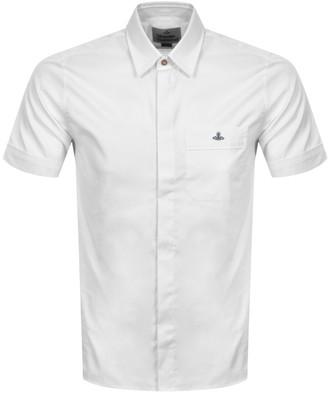 Vivienne Westwood Short Sleeve Classic Shirt White