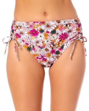 California Waves Juniors High Waist Hipster Bikini Bottoms, Created for Macy's Women's Swimsuit