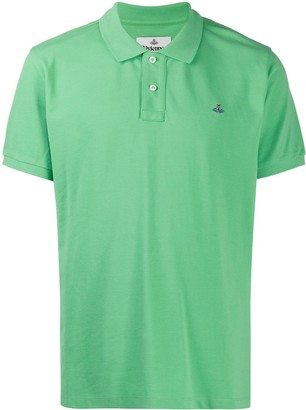 Vivienne Westwood Orb embroidered polo shirt