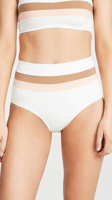 L-Space Portia Stripe Bikini Bottoms
