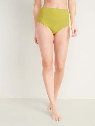 Old Navy High-Waisted Textured Swim Bottoms for Women