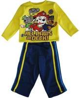 Nickelodeon Little Boys Navy Paw Patrol Always On Deck Pant Set
