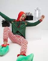 Ssdd Christmas Elf Onesie With Bells