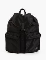 Porter Black Nylon Tanker Backpack