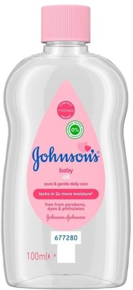 Johnson's Baby Oil 100Ml