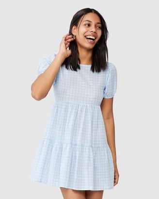 Cotton On Woven Abbie Tie Back Babydoll Mini Dress