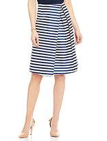 Antonio Melani Cecily Stripe Novelty Skirt