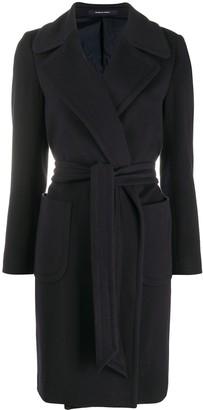 Tagliatore Spread Collar Coat