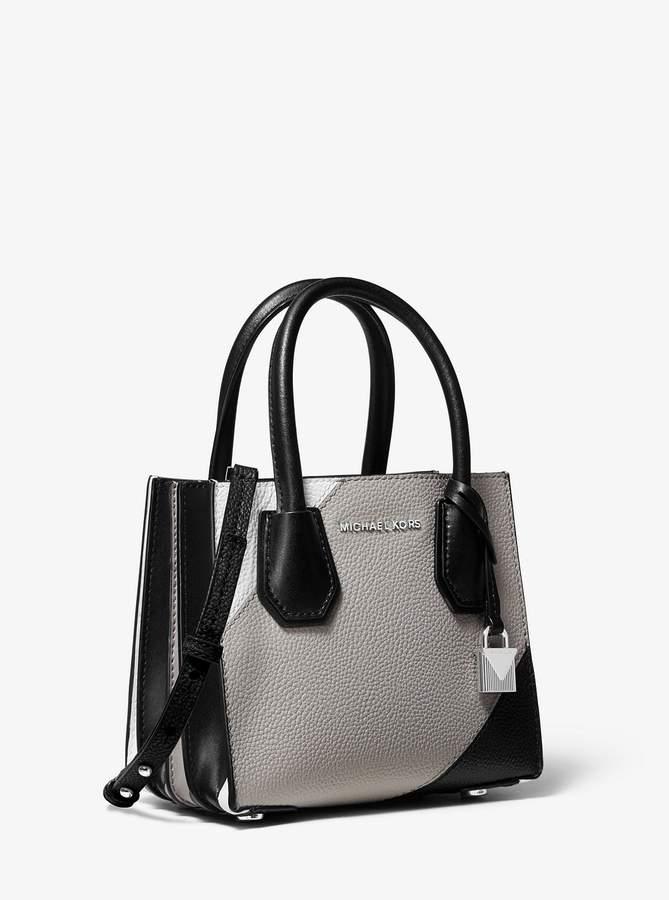 c5a80a4947aa MICHAEL Michael Kors Gray Pebble Leather Handbags - ShopStyle