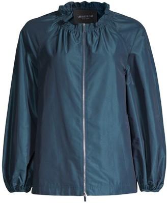 Lafayette 148 New York Brice Ruffle Collar Jacket