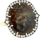SYLVA & CIE Golden Sapphire Ring