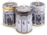 Marks and Spencer Set of 3 Manhattan Tea, Coffee & Sugar Tins