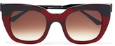 Thierry Lasry Swingy Square-Frame Acetate Sunglasses