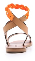 See by Chloe Neon Ankle Strap Sandals