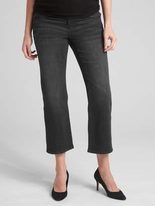 Gap Maternity Full Panel Crop Kick Jeans