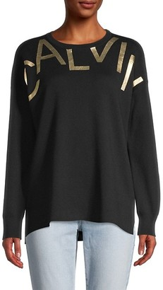 Calvin Klein Graphic Cotton Sweater