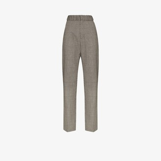 Y/Project Multi-Loop Houndstooth Wool Trousers