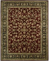 Nourison 2002-099446129239 2000 Burgundy Rectangle Area Rug
