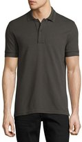 Tom Ford Pique Polo Shirt, Taupe