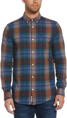 Original Penguin Plaid Flannel Button-Down Shirt