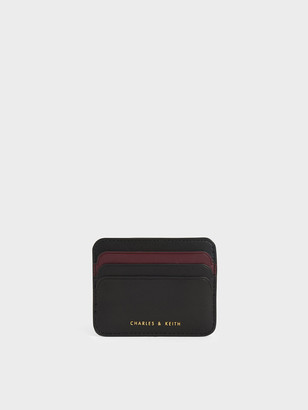 Charles & Keith Two-Tone Multi-Slot Card Holder