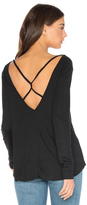 Obey Amaya V Neck Top