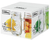 Libbey Four Piece Handled Jar Glass Set