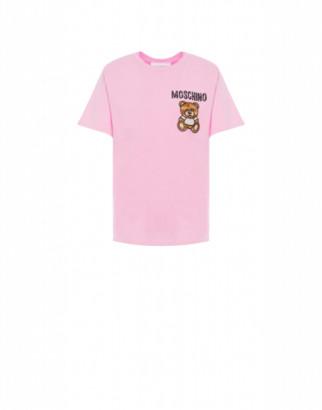 Moschino Mesh T-shirt Teddy Embroidery