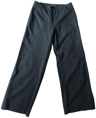 Bruuns Bazaar Black Wool Trousers for Women