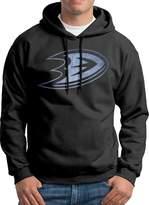 Sarah Men's Anaheim Ducks Pond Logo Hoodie L