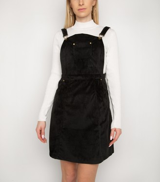 New Look Gini London Cord Pinafore Dress