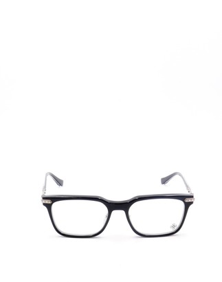 Chrome Hearts Rectangular Frame Glasses
