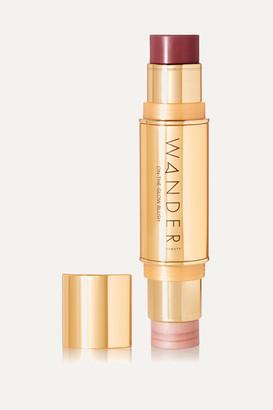 Wander Beauty On-the-glow Blush And Illuminator - Berry Whisper/ Nude Glow