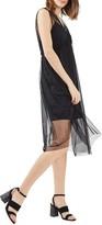 Topshop Women's Tulle Midi Dress