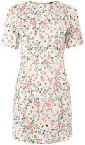 Topshop 3D Flower A-Line Dress