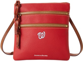 Dooney & Bourke MLB Nationals N S Triple Zip Crossbody