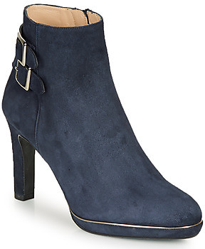 JB Martin WALY women's Low Ankle Boots in Blue