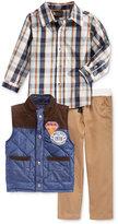 Nannette Little Boys' 3-Pc. Vest, Shirt & Pants Set