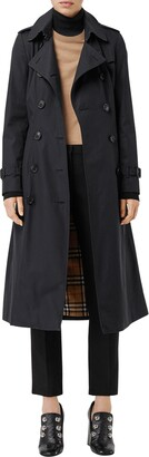 Burberry Slim Fit Long Heritage Chelsea Trench Coat