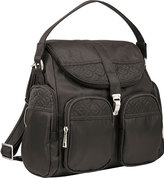Travelon Women's Anti-Theft Signature Convertible Backpack