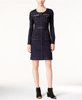 INC International Concepts Denim Sheath Dress, Only at Macy's