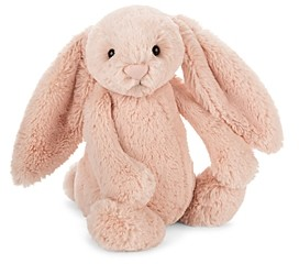 Jellycat Bashful Blush Bunny Medium Plush Toy - Ages 0+