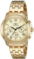Invicta Women's 21654 Specialty Analog Display Swiss Quartz -Plated Watch