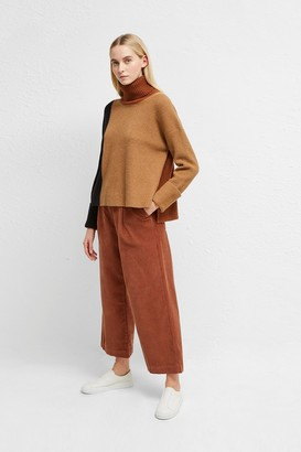 French Connection River Vhari Colour Block Roll Neck Jumper
