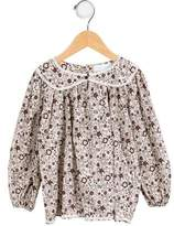 Marie Chantal Girls' Printed Long Sleeve Top