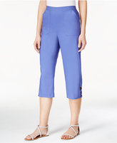 Alfred Dunner Cyprus Collection Cropped Pull-On Pants