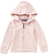Ralph Lauren Little Girls 2T-6X French Terry Full-Zip Hoodie