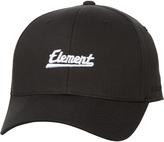 Element Cursive Flexfit Cap Black